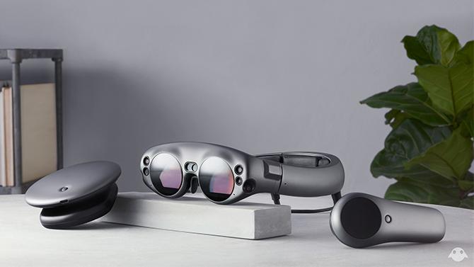 88bfa8b01 As lentes com prescrição são um componente importante para o sistema Magic  Leap, já que o Magic Leap One não consegue acomodar óculos como os headsets  VR.