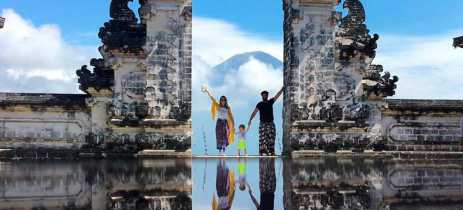 Templo sagrado em Bali decepciona turistas em busca da foto perfeita
