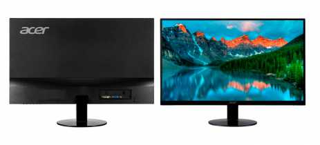 Monitores Acer SA230 e SA270 trazem bordas finas, 75 Hz e resolução Full HD