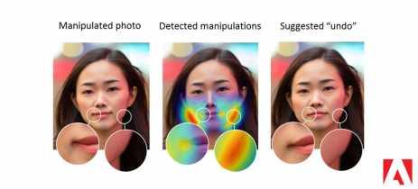 Adobe treina Inteligência Artificial (AI) para descobrir alterações faciais feitas no Photoshop