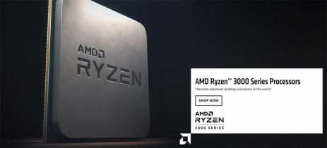 CPUs Ryzen 3000 e GPUs RX 5700 da AMD já estão disponíveis para compra