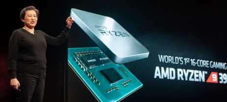 AMD anuncia Ryzen 9 3950X, processador bom para jogos e para desenvolvedores