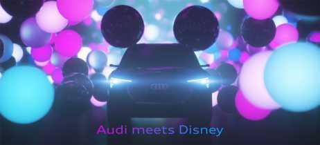 Audi e Disney colaboram em novo tipo de mídia para assistir em veículos autônomos