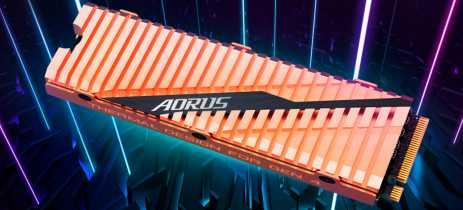 Gigabyte lança o SSD AORUS NVMe Gen4, primeiro com PCIe 4.0, e é