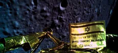 Nave Beresheet de Israel teve falhas no motor e não conseguiu realizar pouso na Lua