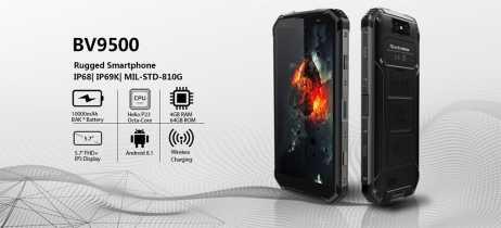 Smartphones Blackview BV9500 e BV9500 Pro entram na pré-venda