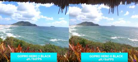 Trilha em 4K 60 FPS pelo costão do santinho comparando GoPro Hero 7 Black e Hero 6 Black