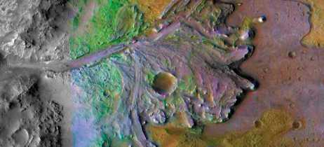 NASA já escolheu a cratera Jezero como local de pouso para a missão Marte 2020