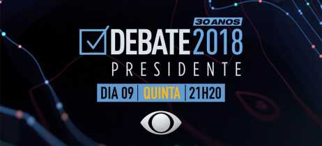 Band realiza hoje o primeiro debate entre os presidenciáveis - veja como assistir online