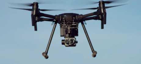 DJI lança sensor de câmera térmica e plataforma modular para drones empresariais