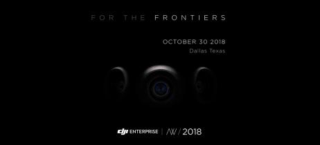 DJI divulga nova imagem para o DJI Airworks, evento que apresenta principais tecnologias da empresa