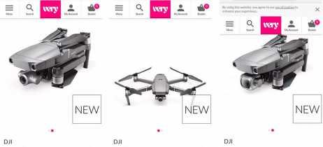 Drones DJI Mavic 2 Pro e Zoom aparecem em site de loja britânica