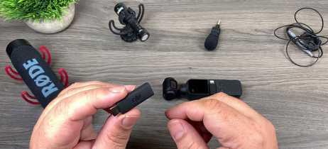 DJI lança adaptador de 3,5mm para microfones para o Osmo Pocket