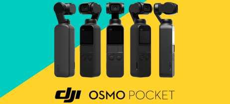 Dji Osmo Pocket já traz firmware v1.2.0.20 com melhorias no áudio e foco automático