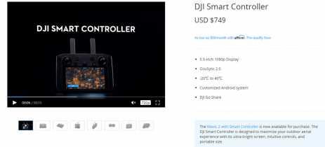 Esperando o Smart Controller da DJI baixar de preço? Aumentou US$100