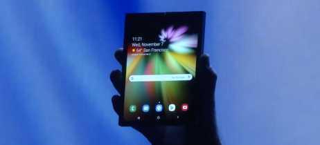 Smartphone dobrável da Samsung deve chegar em março por US$ 1.770 [Rumor]