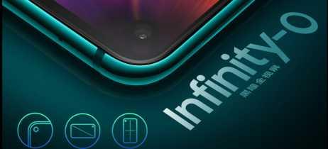 Samsung lança o Galaxy A8s, seu primeiro smartphone com display Infinity-O