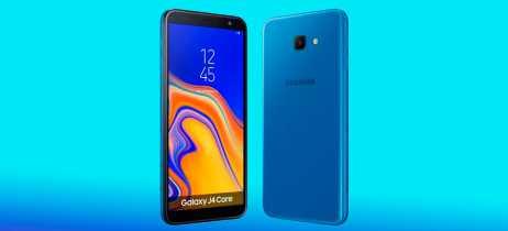 Samsung lança no Brasil os smartphones Galaxy J4 Core e J2 Core