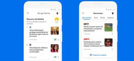 Google Notícias agora tem versão mais leve para smartphones