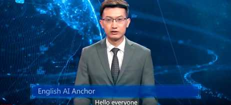Estatal chinesa cria âncora com inteligência artificial para ler notícias