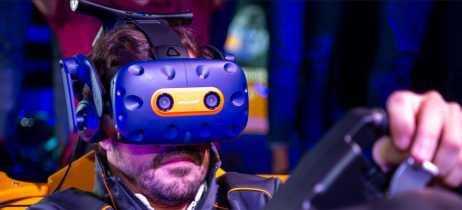 Vive Pro McLaren Edition é o headset de realidade virtual feito para os fãs de Fórmula 1