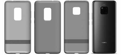 Patente da Huawei revela suposta capinha para o Mate 30 Pro com janela de câmera maior