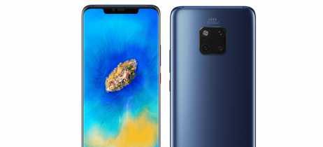 Praticamente todos os detalhes do Huawei Mate 20 Pro aparecem online, incluindo preço