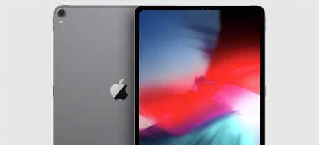 Capa de novo iPad Pro aparece em imagem e indica presença de Face ID e bordas finas