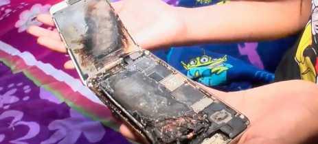 Menina na Califórnia diz que seu iPhone 6 explodiu, Apple está investigando