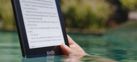 Você pode ler livros digitais na água com o novo Kindle Paperwhite da Amazon