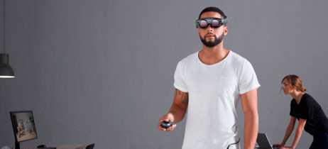 Protótipos do óculos de realidade aumentada Magic Leap One são guardados em cofres