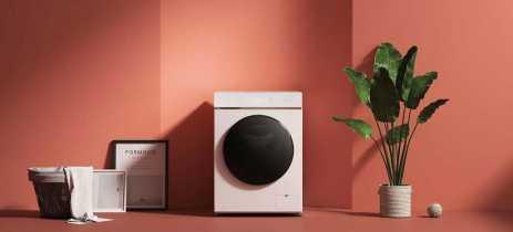 Xiaomi lança máquina de lavar e secadora Mijia que pode ser controlada pela internet