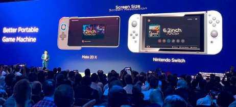 Huawei diz que seu smartphone gamer, o Mate 20X, é melhor que Nintendo Switch