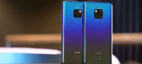 Huawei Mate 20 e 20 Pro se tornam oficiais com câmera tripla e CPU mais poderosa