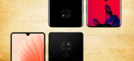 Vazamentos do Huawei Mate 20 mostram teste de desempenho do Kirin e design do smartphone