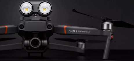 DJI lança Mavic 2 Enterprise, drone compacto voltado para suporte em resgates