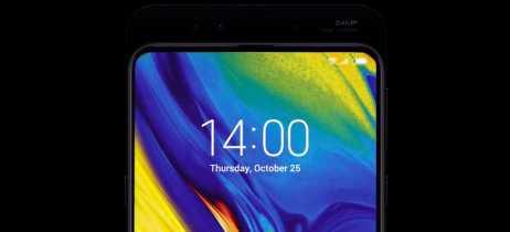 Imagens do Xiaomi Mi Mix 3 foram publicadas e mostram duas câmeras frontais, uma com 24MP
