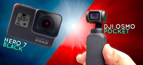 GoPro Hero 7 Black vs DJI Osmo Pocket: Qual é a câmera mais indicada para você?