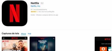 Netflix deixa de permitir que novos usuários paguem através do iTunes