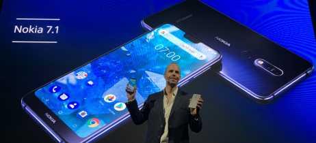 Nokia 7.1 oficialmente lançado com display HDR10 e processador Snapdragon 636