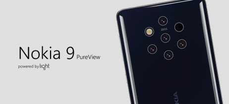 Capa para o Nokia 9 PureView aparece em vazamento confirmando suas cinco câmeras