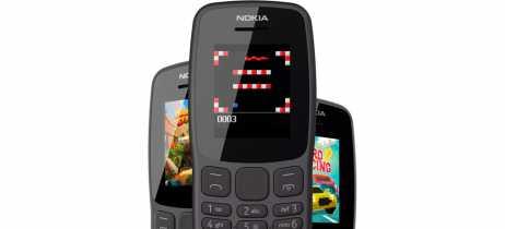 HMD anuncia Nokia 106 com até 21 dias de duração da bateria e com jogo da cobrinha