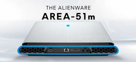Area-51m, o notebook personalizável da Alienware