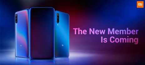 Teaser da Xiaomi sugere novo membro para a linha Mi 9 com câmera frontal retrátil