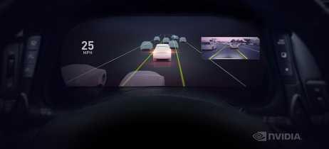 Nvidia Drive AutoPliot traz direção autônoma e cockpit inteligente para carros