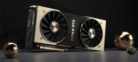 Nvidia Titan RTX chega com maior desempenho para cientistas e profissionais
