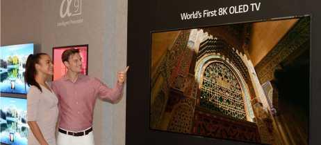 IFA 2018: LG apresenta a primeira televisão OLED com resolução 8K