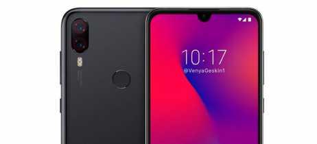 Conceito da aparência do Pocophone F2 da Xiaomi mostra entalhe em formato de gota
