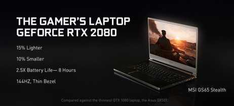 Notebooks com placas de vídeo Nvidia RTX chegam ao mercado em 29 de janeiro