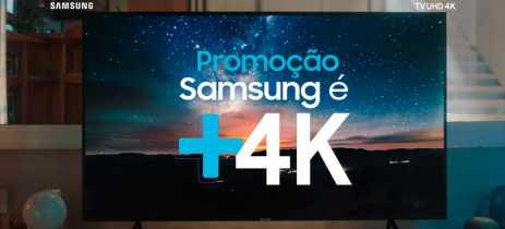 Promoção da Samsung dá até R$ 2 mil de desconto na compra de duas TVs 4K